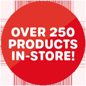 Over 250 generic