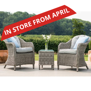 Oxford Rattan 3 piece lounge set - includes 2 chairs and a coffee table