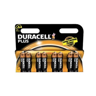 Duracell AA Plus Power 8 Pack