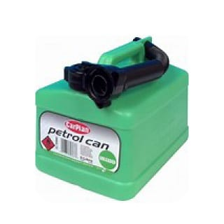 CarPlan Unleaded (Green) Jerry Can 5ltr
