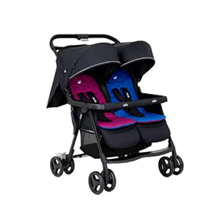 JOIE Aire Twin Stroller Rosy & Sea