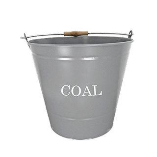Coal Bucket - Grey - 32cm